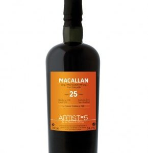 Whisky du Speyside Macallan 1989 The Artist 5th 25 ans 54,7%