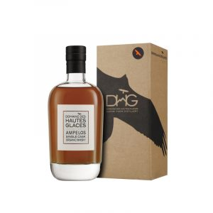 Whisky français des Hautes Alpes Domaine des Hautes Glaces Ampelos Single Malt Brut de fût 52,5%