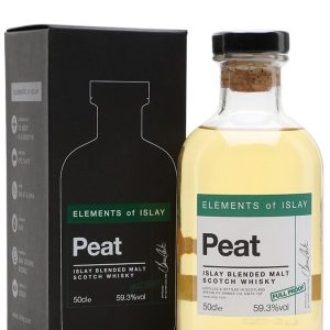 blended d'islay elements of islay peat full proff 59,3% format 50cl