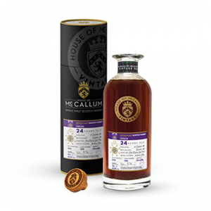 Whisky Isle of Mull Ledaig 24 ans single cask House of McCallum 46,8%