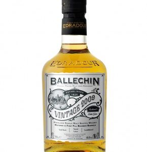 Whisky des Highlands Ballechin 2009 Vintage Bourbon