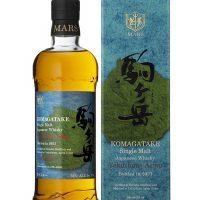 Whisky Japonais MARS Komagatake Yakushima Aging 2021 56%