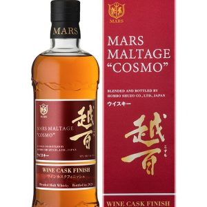 Whisky Japonais Mars cosmo Wine Cask Finish