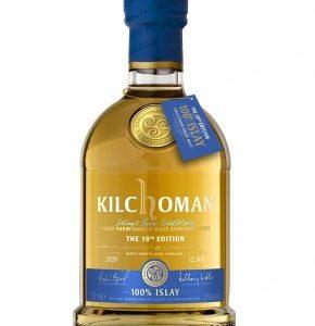 single malt Kilchoman 100% Islay 10th édition - Islay- Whisky d'Islay 48%