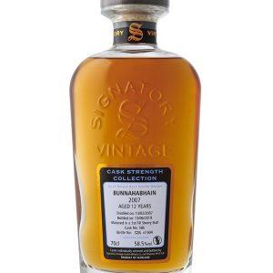 Whisky D'Islay BUNNAHABHAIN 10 ans 2009 S.V 68,5%