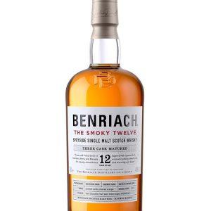 whisky du Speyside Benriach 12 ans the smoky twelve