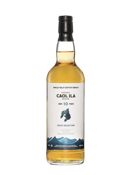 whisky d'Islay CAOL ILA 10 ans 2011 Islay Selection S.V 46%
