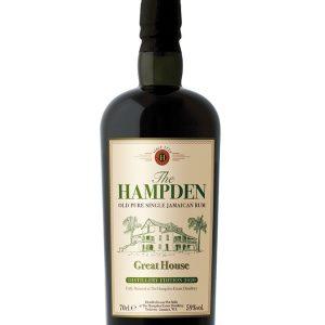rhum de Jamaïque Hampden Great House edition 2020
