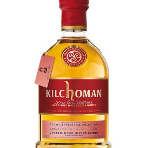 whisky d'Islay KILCHOMAN 5 ans 2015 Family Cask Collection PX Hogshead Single Cask Selected by James Wills French Connections 58,7%