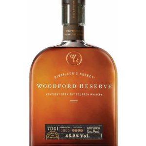 Whisky Américain WOODFORD RESERVE Bourbon 45,2%
