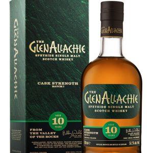 Whisky du Speyside GlenAllachie 10 ans Cask Strength Batch 3 58,2%