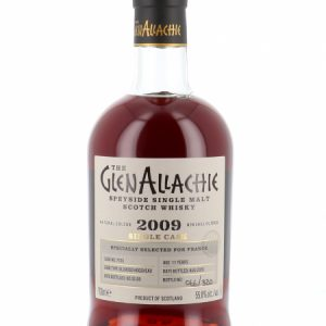 Whisky du Speyside GlenAllachie 2009 Oloroso Single Cask 11 ans 55%