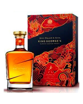 whisky d'ecosse Johnnie Walker Sons King George V - Nouvel An Chinois 2021 Buffle