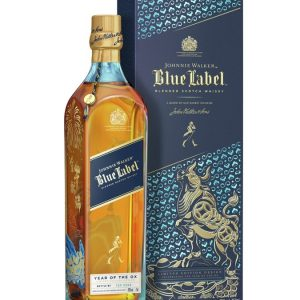 whisky d'Ecosse johnny walker bleu label nouvel an chinois
