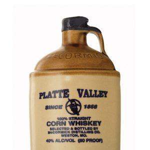whisky du Missouri platte valley corn whisky cruchon 40%