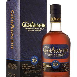 Whisky du Speyside Glenallachie 15 ans 46%