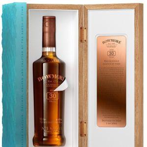 Whisky d'Islay Bowmore 30 ans brut de fût 45,3%