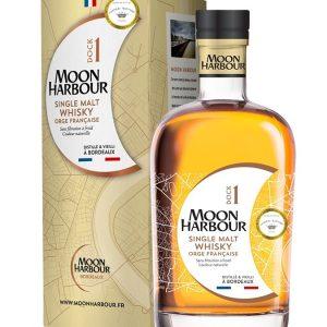 whisky de bordeaux Moon harbour dock 1 fintion château Rieussec 45,8%