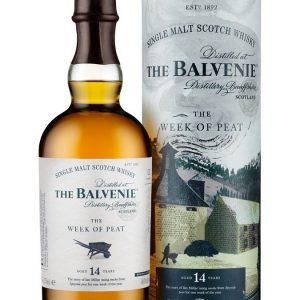 Whisky du Speyside Balvenie The Week of peat 14 ans - tourbé 48,3%