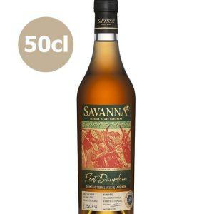 Rhum de la Réunion SAVANNA 16 ans 2003 Traditionnel Finish Armagnac 44,8%