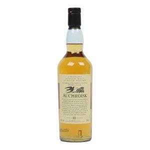 whisky du Speyside Auchroisk 10 ans Flora & Fauna 43%