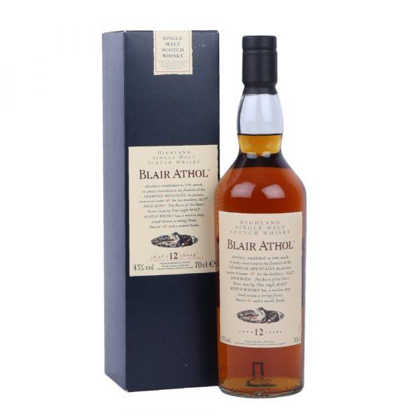 whisky des Highlands Blair Athol 12 ans Flora & Fauna 43%